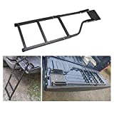 Foldable Steel Tailgate Ladder Assembly for Pickup Universal Tailgate Step Ladders Set for Trucks