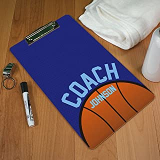Personalized Basketball Clipboard, Dry Erase Marker Included