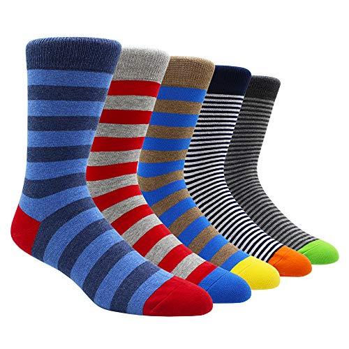 TOEJYJ mens fun dress socks,funky funny cotton casual socks, (S014, shoes(10-15))
