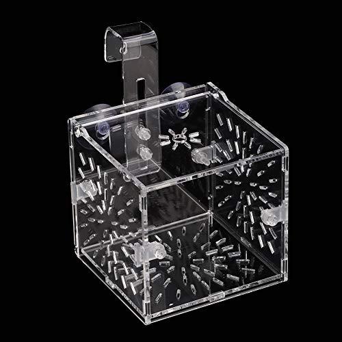 Caja de cría de Peces no tóxicos con diseño de succión,