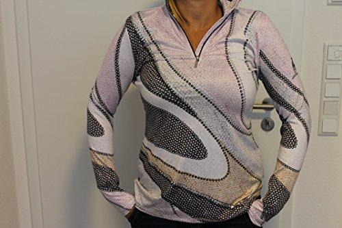 Sportalm Kitzbühel Aquila Damen Ski Pullover Sweater Rosa Schwarz Größe M, L, XL Neu mit Etikett (38)