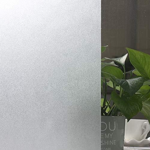 Privacy raamfolie, matte glasfolie, geen lijm, glassticker, warmteregeling, uv-blokkering, niet klevend, raamstickers 50x500cm(20x197inch) B