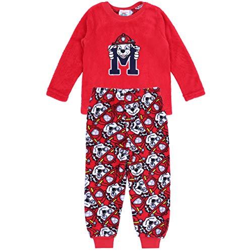 Pijama roja La Patrulla Canina Nickelodeon - 3-4 Años 104 cm