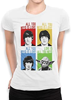 Best all you need is love beatles and yoda shirt Reviews