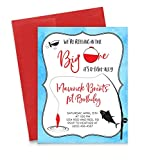Fishing Birthday Invitation for Boys, Fishing Invitations for Kids Party, Your choice of Quantity, Age, Info and Envelope Color