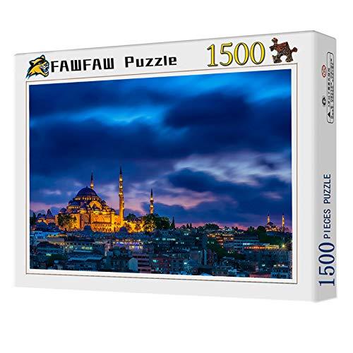 Puzles Adulto De 1500 Piezas, Turquía Estambul Ciudad