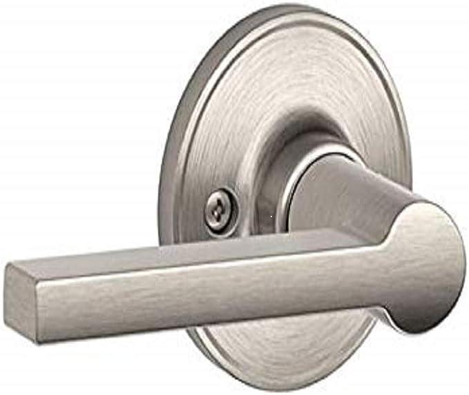 Details about  /New Schlage J Series Torino Satin Nickel Dummy Door Lever FREE SHIP J170TOR619