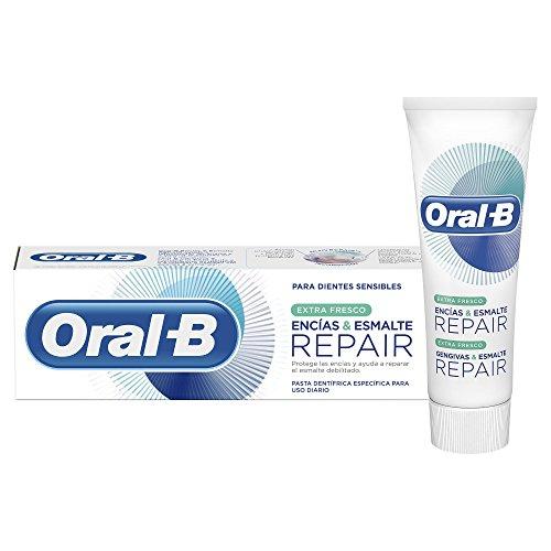 Oral-B Zahnfleisch & Nagellack Repair Extra Frische, Zahncreme 75 ml