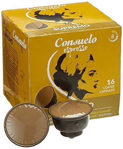 Consuelo Dolce Gusto* kompatible Kapseln   – Supremo, 96 Kapseln (16x6)