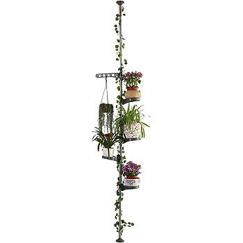 Citysens - Macetero Vertical con Autorriego, Blanco, 4 Macetas ...