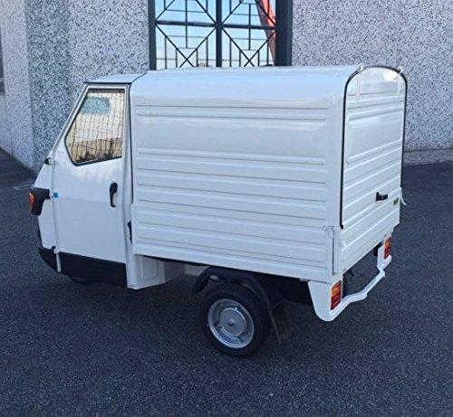 Piaggio APE 50 Kasten Benzin, Farben:Weiß