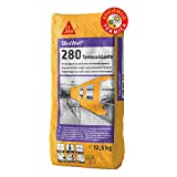 SikaWall 280 Termoaislante, Plaste en polvo termoisolante para superfícies interiores, 12,5kg, Blanco