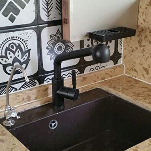 Robinet bassin mélangeur robinet cascade robinet antique salle de bain robinet évier de cuisine granit cuivre coulée de précision peut tirer vers le bas chaud et froid de roche de quartz de dynamita