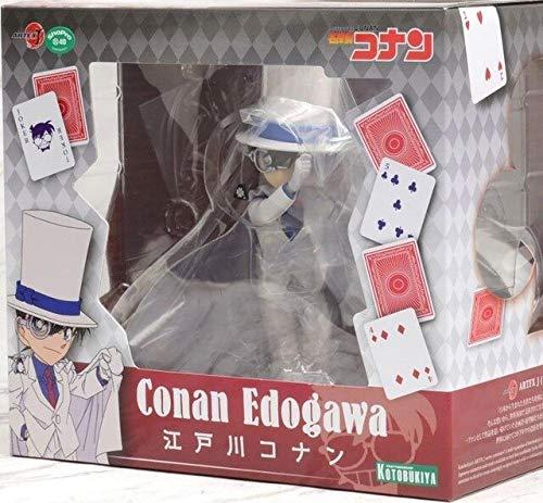 Anime Detective Conan ARTFX J Kuroba Kaito Conan Edogawa Model Figure Toys, Conan met doos
