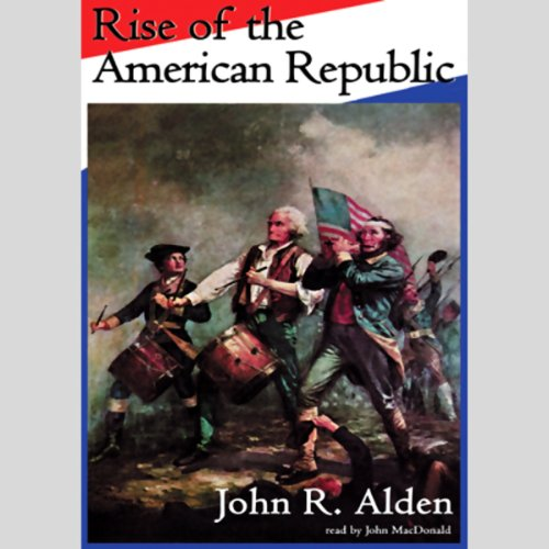 Rise of the American Republic audiobook cover art