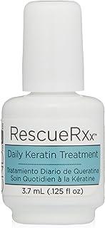 CND RescueRXx - Aceite de tratamiento diario intensivo de queratina para cutículas, 3,7ml