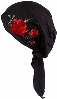 Women Summer Flora Indian Stretch Beanie Scarf Turban Hat Cancer Chemo Cap Hair Scarf Headwrap