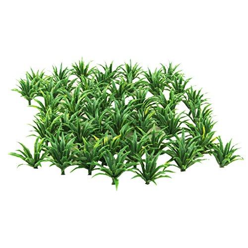 Unbekannt 50 Modell Bodendecker Pflanzen Architektur Zug Diorama Landschaft 1: 60 1: