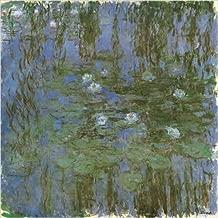 Nympheas Bleus Art Print Poster by Claude Monet