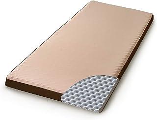 アイリスオーヤマ マットレス 高反発 低反発 寝心地選べる2層構造 極厚10cm 高密度 ベッドマット 敷布団 凹凸 プロファイル加工 体圧分散 リバーシブルカバー 洗える シングル MAKT10-S