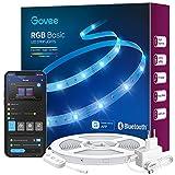 Govee Tiras LED 10m, Luces LED Bluetooth Control de App con 64 Modos de Escena y Sincronización de Música, Tira LED RGB para Habitacion, Cocina, Fiesta, Bricolaje, Decoración del Hogar
