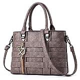 Tibes Designer Handbag for Women Ladies Handbags PU Leather Weave Shoulder Bag Women