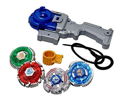 OM Enterprise Metal Fusion Beyblades Pack of 1 for Kids Boys and Girls Baby Spinning Beyblade Toy (4D Bey Blade)
