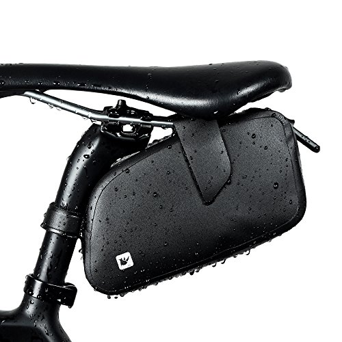 WOTOW Rainproof Bicycle Saddle Bag Waxed Under Seat Bike Wedge Pack Water Re...