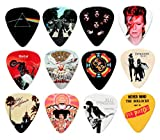 Best Guitar Picks - 24 Classic Albums on 12 Double Sided Guitar Review