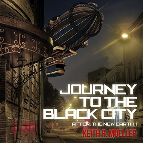 Journey to the Black City audiobook cover art