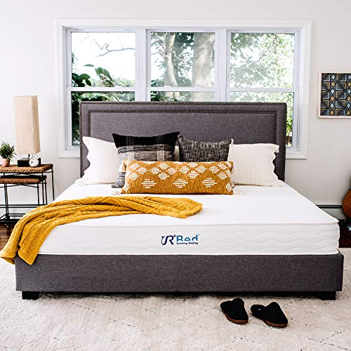 "Sunrising Bedding 8"" Natural Latex Queen Mattress, Individually Encased Pocket Coil, Firm, Supportive, Naturally Cooling, Non-Toxic Organic Mattress, 120-Night Risk-Free Trial, 20-Year Warranty"
