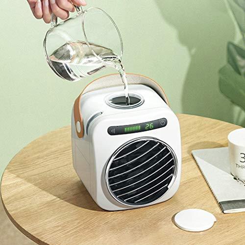 Mini-airconditioner, ventilator, koelwaterkoeling, airconditioning, koelventilator, koelkast, klein, energiezuinig, stil