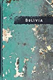 """Bolivia Notebook: Gift for Bolivia Citizens Travellers and Lovers, 100 Timeline Pages of High Quality, 6""""x9"""", Premium Matte Finish"""