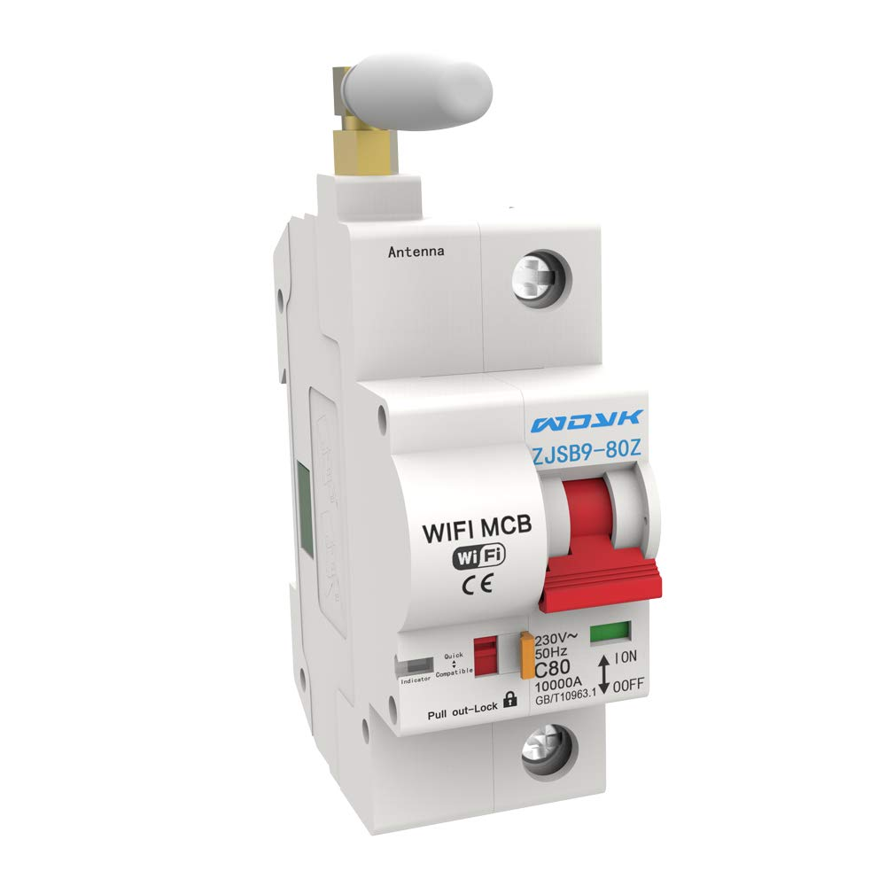 1P WiFi Intelligent Circuit Breaker with Energy Monitoring and Meter N1X3