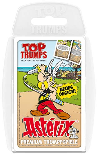 Winning Moves Top Trumps Asterix Spiel Quartett Quartettspiel Kartenspiel