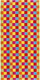 Cawö Home Handtücher Life Style Karo 7017 Multicolor - 25 Saunatuch 70x180 cm