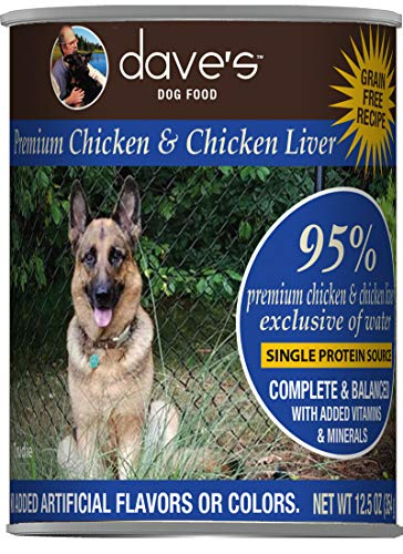 Dave's Pet Food Healthy & Grain Free Canned Dog...