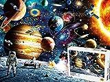 1000 Piezas de Rompecabezas Espacial, aprendiendo los niños Educación Jigsaw Puzzle Toy descompresión Juego de Ocio for Adultos Mejor for los Amigos