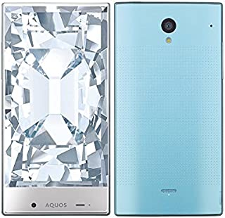白ロム SoftBank AQUOS CRYSTAL 305SH ブルー