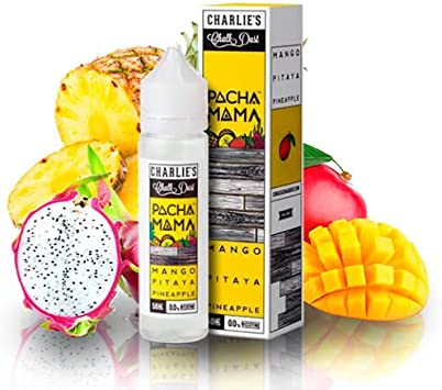 E Liquid Pachamama Mango Pitaya Pineapple 50 ml - Sin nicotina