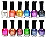 Best Nail Polish Sets - Kleancolor Nail Polish - Awesome Metallic Full Size Review
