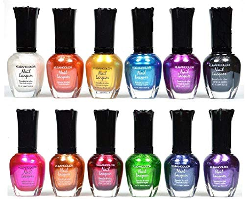 Kleancolor Nail Polish - Awesome Metallic Full Size Lacquer...