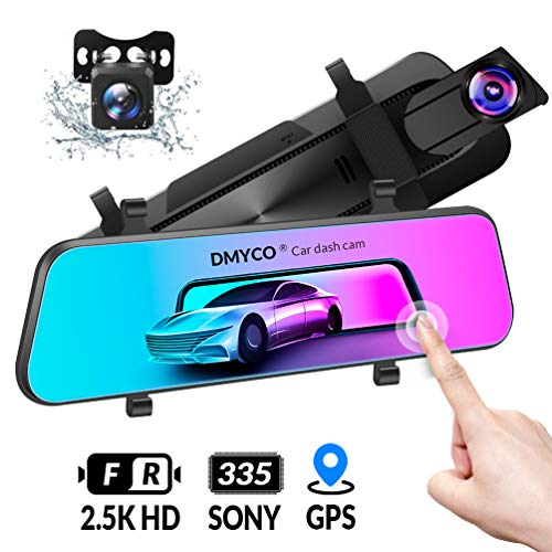 DMYCO Dashcam Rückfahrkamera Autos Parkmonitor Video Recorder 10