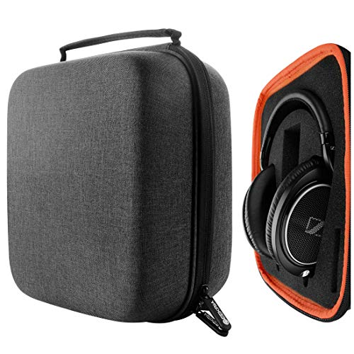 Geekria UltraShell Headphone Case for Beyerdynamic DT 880, DT 880 pro, AKG K167, K540, Sennheiser HD599, HD598CS, HD280PRO Headphones - Replacement Large Hard Shell Travel Carrying Bag