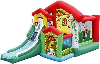 Castillos hinchables Castillo De La Princesa Juguetes Castillo Inflable para Niños Cama Elástica Cuadrada con Cama Elástica Cama para Niños Cama De Salto (Color : Color, Size : 260 * 475 * 260cm)