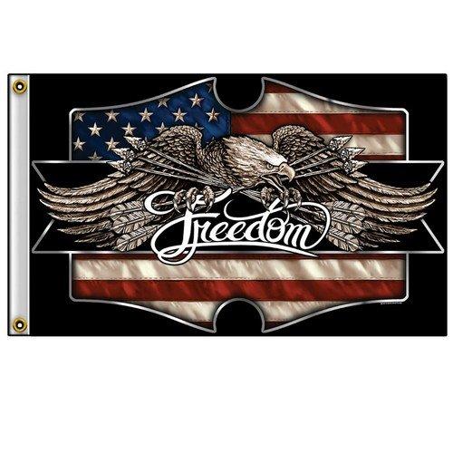 Drapeau Aigle USA Freedom