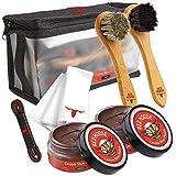 Best Shoe Polish Kits - Red Moose 7pc Brown Leather Shoe Polish Kit Review