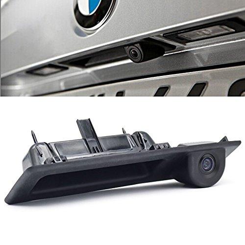 Navinio Nachtsicht Rückfahrkamera Einparkkamera Einparkhilfe Rückfahrsystem Einparkkamera Wasserdicht für 3er/4er/ 5er Series/ X1/X3/F25/X4/X5/320Li/530i/328i/535i/ F30/F31/ F32/F34/F35/F80