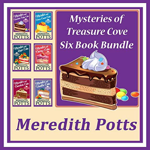 Mysteries of Treasure Cove Series audiobook cover art
