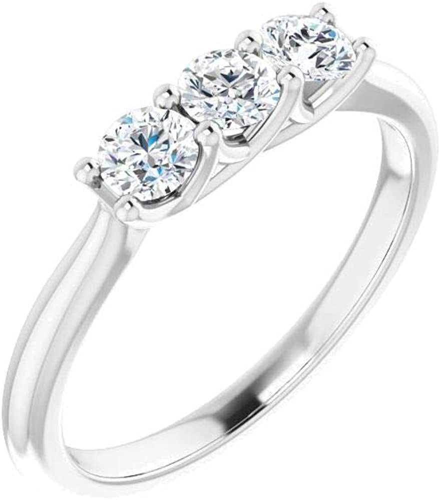Bonyak Jewelry Platinum 1 2 CTW Size in Louisville-Jefferson County Mail order Mall Anniversary Band Diamond